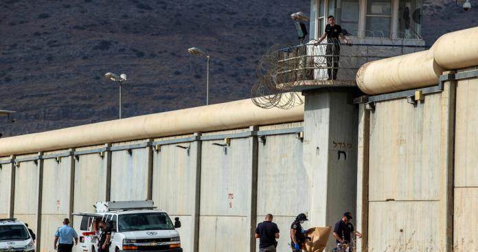 على الطريقة الهوليودية.. لقطات جديدة ترصد لحظة هروب الأسرى الفلسطينيين (فيديو)