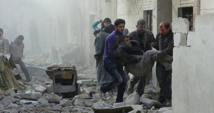سقوط ضحايا مدنيون في قصف للنظام على المنطقة المنزوعة السلاح
