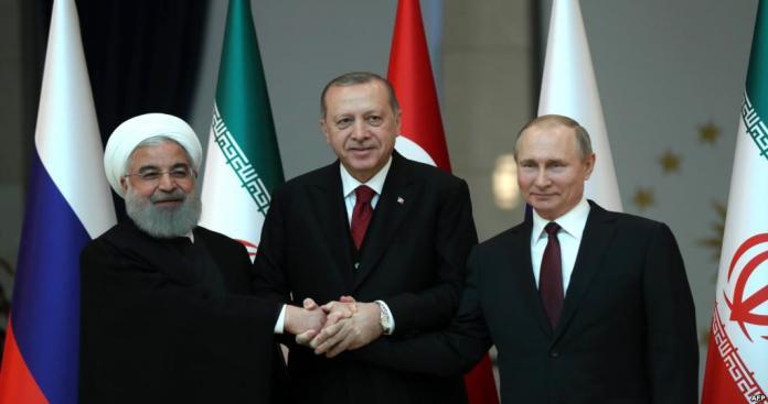 أردوغان يعلن تشكيل آلية ثلاثية للدول الضامنة حول سوريا