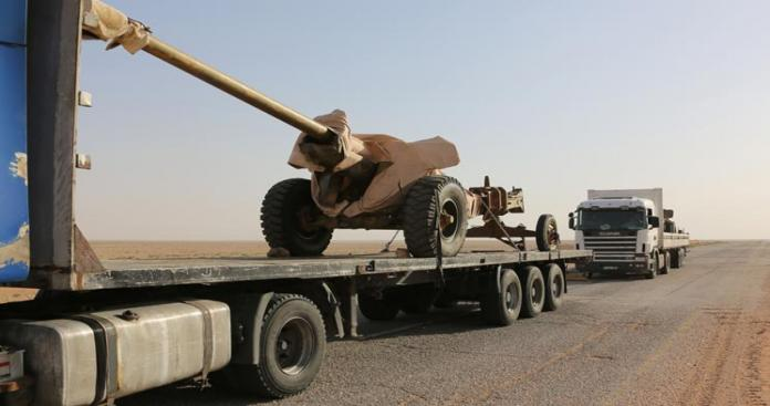 النظام السوري يدفع بتعزيزات عسكرية على الحدود الأردنية