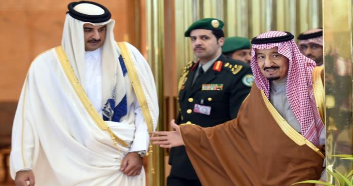 مصادر تكشف مفاجاة: السعودية تستنجد بقطر لتهدئة الأوضاع في منطقة الخليج.. وهذه التفاصيل