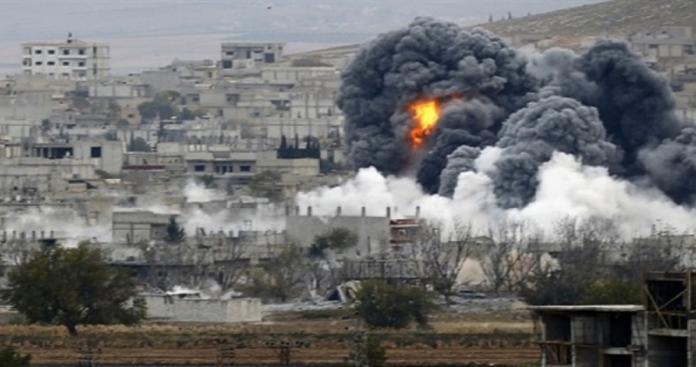مجزرة جديدة بحق المدنيين .. التحالف يستهدف الفارين من الرقة
