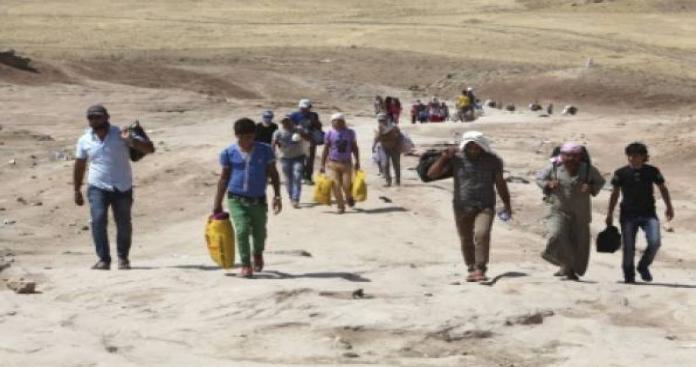 50 ألف نازح من المدنيين بعد اقتراب المعارك من ريف حلب الشرقي
