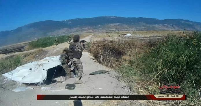 """""""وحرض المؤمنين"""" تباغت قوات النظام بعمل عسكري مفاجئ على جبهة الساحل"""