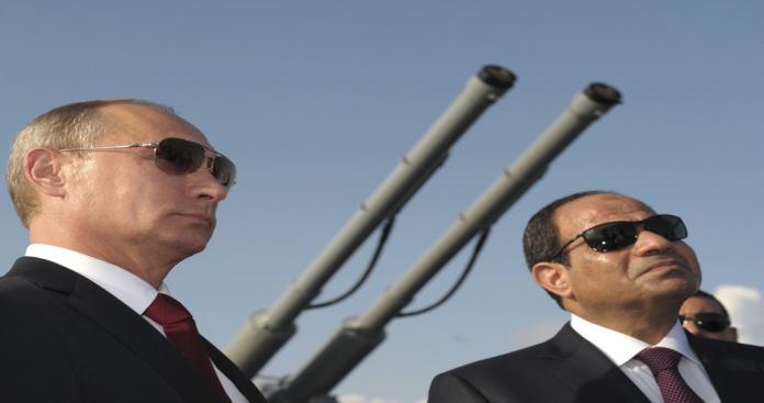 """روسيا تواصل تدعيم نفوذها عسكريًّا بالمنطقة.. و""""مصر السيسي"""" على خطى """"سوريا بشار"""""""