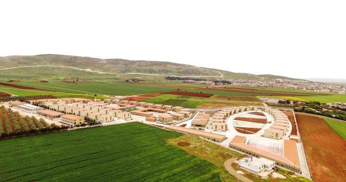 اقتراب موعد افتتاح مدينة للايتام السوريين بتركيا