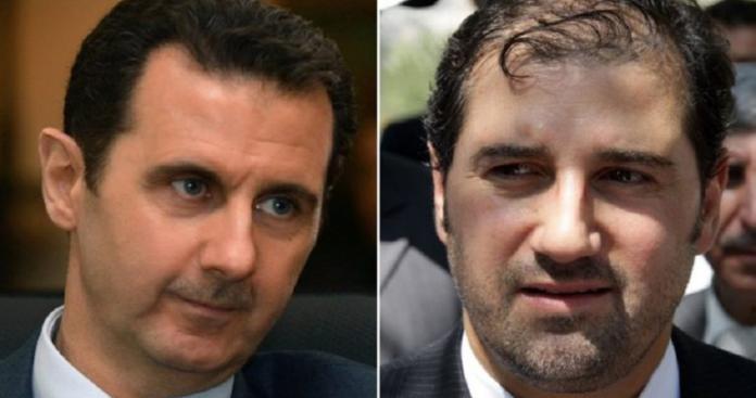 موقع روسي يكشف سر انقلاب بشار الأسد على رامي مخلوف