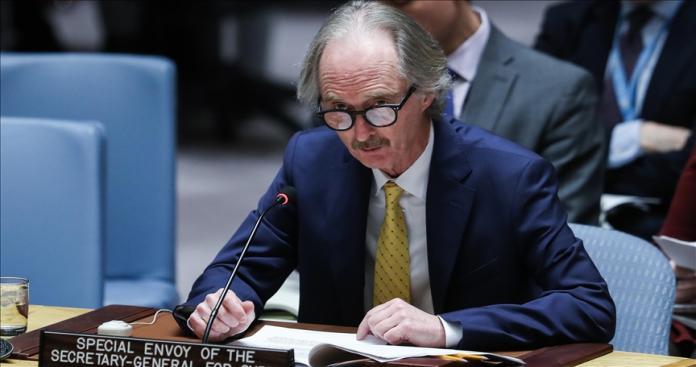 """""""بيدرسون"""" ينتقد روسيا و""""نظام الأسد"""" أمام مجلس الأمن: يجب أن يحظى سكان إدلب بالحماية"""