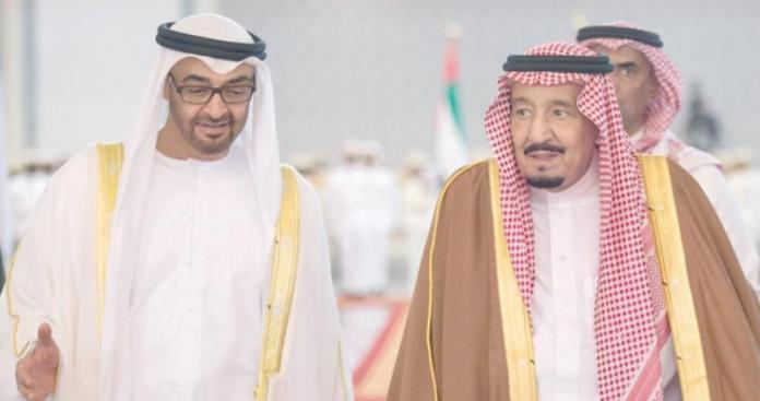 """بعد غضب الملك سلمان من """"ابن زايد"""".. ولي عهد أبو ظبي يخرج عن صمته"""