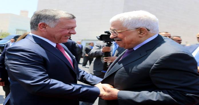"""بعد تصريحه بأن """"مستقبل القضية الفلسطينية على المحك"""" .. ماذا فعل ملك الأردن في رام الله؟"""