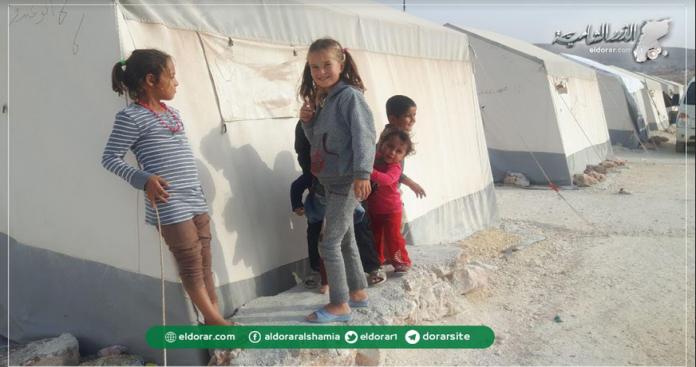 """أوضاع إنسانية مأساوية في مخيم """"لستم وحدكم"""" شمال إدلب"""