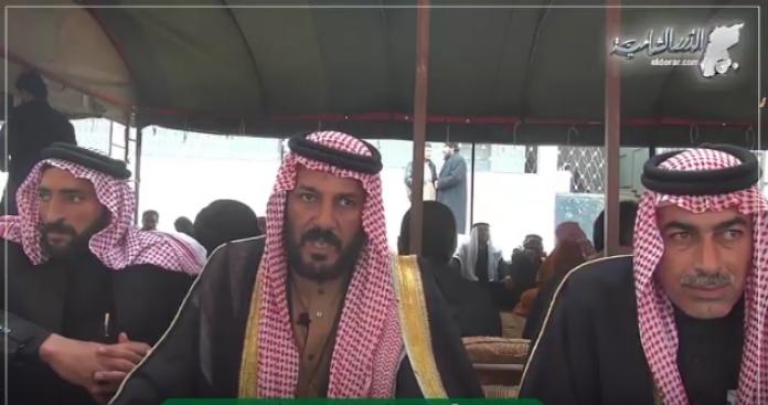 """انعقاد أول مؤتمر لقبيلة """"العكيدات"""" في الشمال السوري و""""الدرر الشامية"""" ترصد وقائعه"""