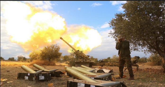 العزة ميليشيات الأسد جبهة المصاصنة