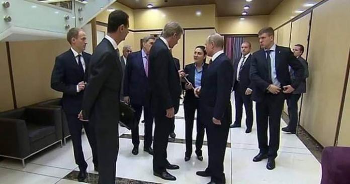 """فيصل القاسم يعلق على تسريب روسيا صور """"مذلة"""" لـ""""بشار الأسد"""""""
