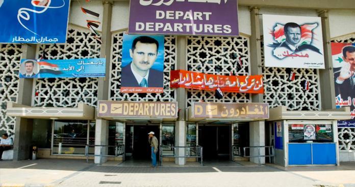 """مسؤول في """"نظام الأسد"""" يلمح إلى قرار خطير بشأن مطار دمشق الدولي"""