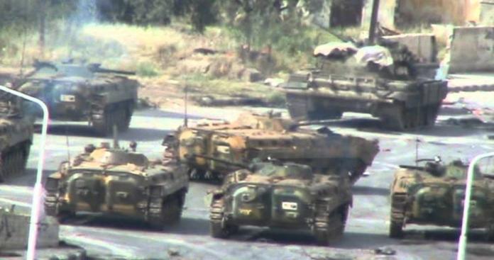 الكتائب الإسلاميّة تدمّر9 دبابات وتقتل 115 جنديّاً خلال معارك مستودعات 559 في القلمون