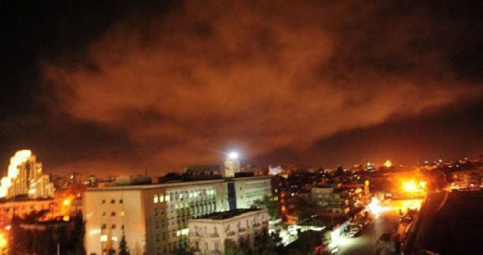 مقاتلات إسرائيلية تشن غارات على دمشق.. والكشف عن المواقع المستهدفة