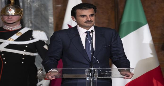 """أمير قطر يفصح عن شرطه """"الوحيد"""" لحل الأزمة الخليجية"""