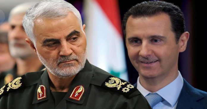 """""""إندبندنت عربية"""" يكشف مفاجآت جديدة عن تورط """"نظام الأسد"""" في تصفية قاسم سليماني"""