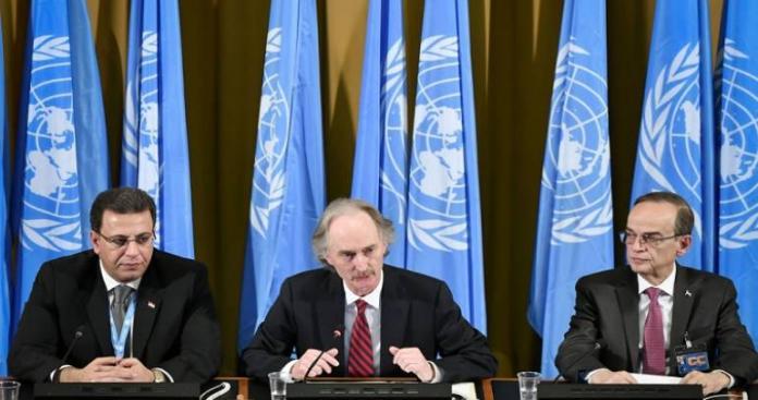 وفد نظام الأسد في جنيف يصدم المعارضة ويعلن رفضه وضع دستور جديد