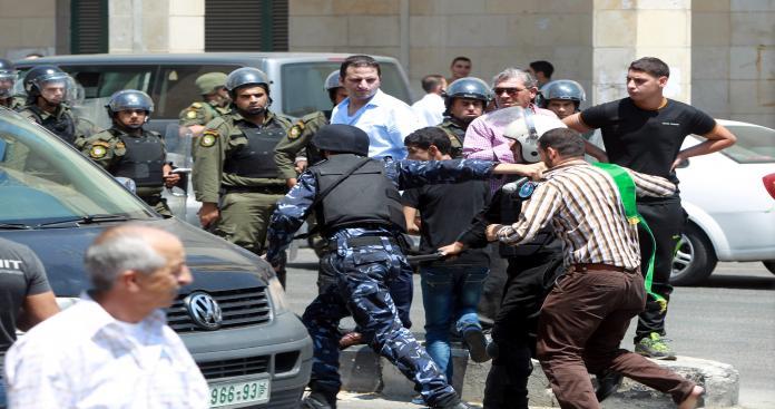 أجهزة السلطة تعتقل 7 شبان على خلفية سياسية بالضفة