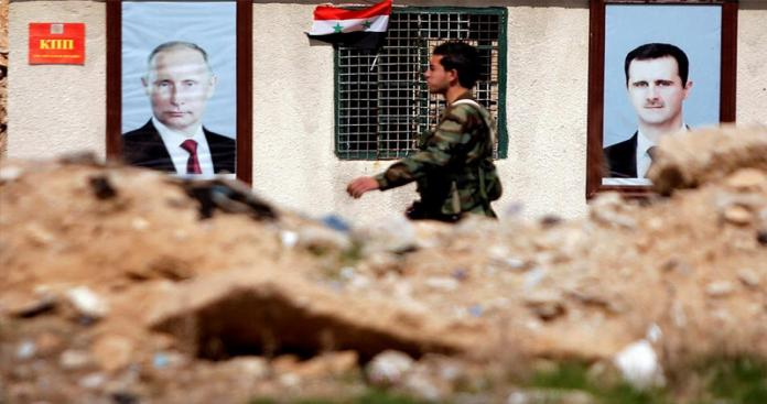 مقتل عنصر من قوات النظام في حادثة غريبة بمحيط دمشق