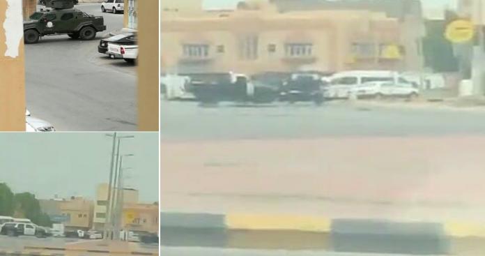 القطيف تشتعل.. حرب شوارع بالأسلحة الثقيلة بين الأمن في السعودية ومسلحين (فيديو)