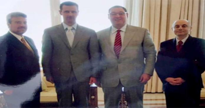 """إزالة اللثام عن لقاء مثير بين عميل لـ""""الموساد"""" و""""الممانع بشار الأسد"""""""