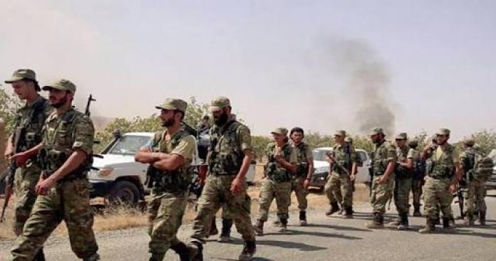 معسكرات تركية لتدريب الجيش السوري الحر