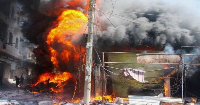جرحى مدنيين في انفجار جديد يضرب مناطق الجيش الوطني شمال حلب