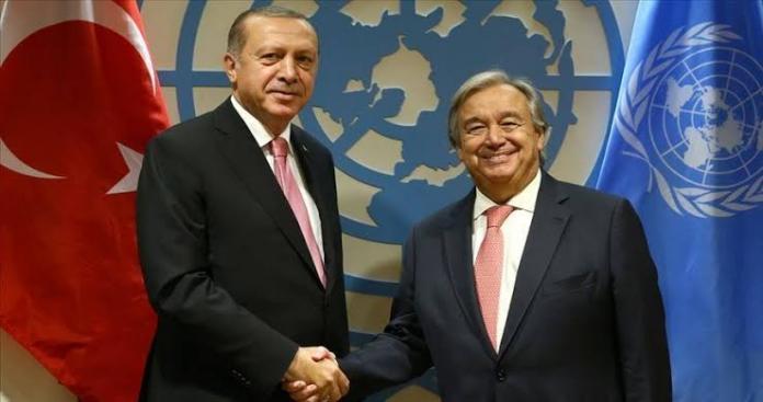 الأمم المتحدة تعلن استعدادها التنسيق مع تركيا بخصوص العمليات العسكرية شرق الفرات