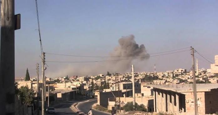 روسيا ترتكب مجزرة مروعة داخل بلدة كفرومة جنوب إدلب