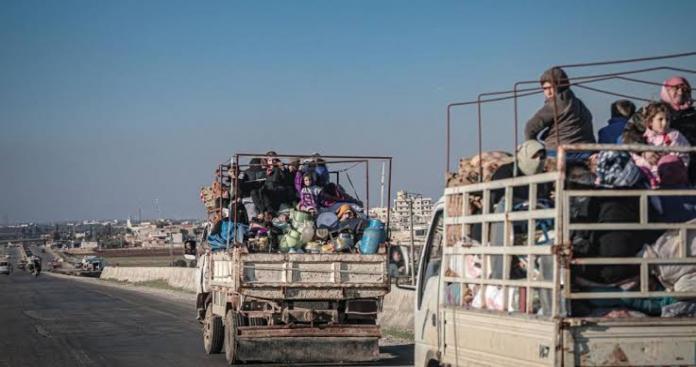 الأمم المتحدة تكشف عن حصيلة أعداد النازحين من إدلب وحلب