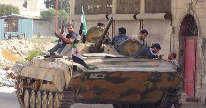 """تشكيل """"فرقة الحمزة"""" بريف حلب الشمالي لقتال تنظيم """"الدولة"""" وقوات اﻷسد"""