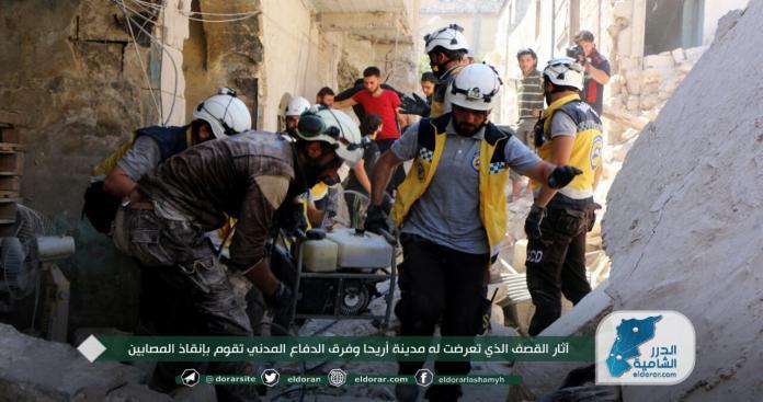 صحيفة أمريكية : روسيا تتجاهل المعايير الإنسانية في قصف إدلب