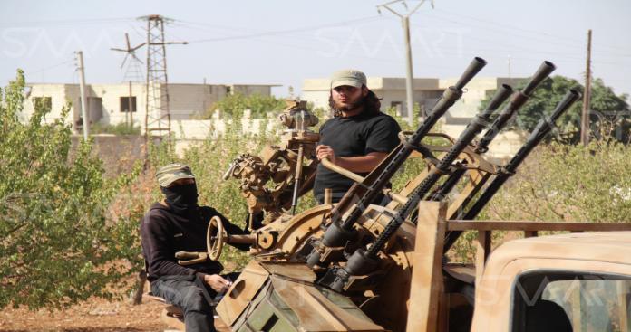 جيش الأحرار يباغت النظام في ريف اللاذقية ويكبده خسائر