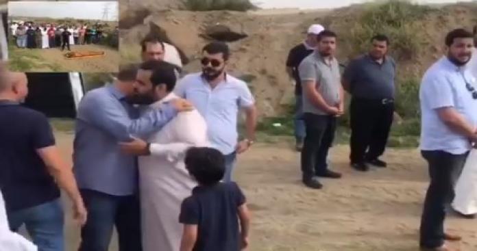 بالفيديو.. تشييع جثمان السوري ضحية الهجوم الحوثي الإرهابي على مطار أبها في السعودية