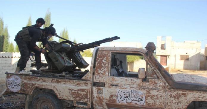 جيش العزة يفتك بمجموعتين من ميليشيات الأسد في كمين محكم شمال حماة