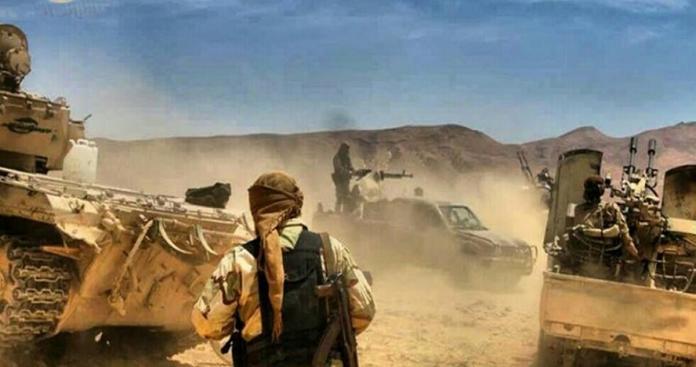 السوري الحر يواصل تقدمه على تنظيم الدولة بالقلمون الشرقي