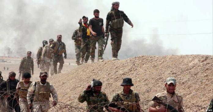 الحشد العراقي يعزز نقاط تمركزه على الحدود السورية