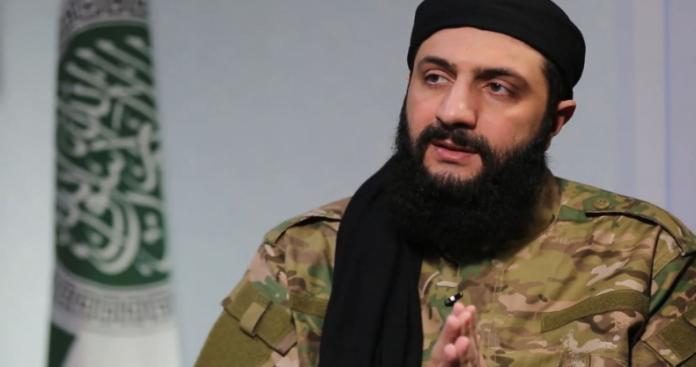 """أبو محمد الجولاني يوجه رسالة إلى المتظاهرين.. ووصية لجنود """"تحرير الشام"""""""