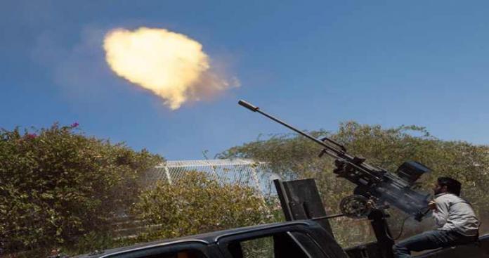 """تصاعدت العمليات العسكرية في """"مورك حماة"""" والأسد يقصف المدينة بالغازات السامة"""