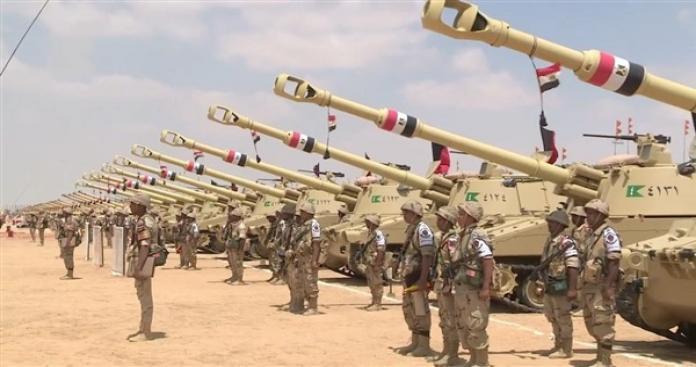 """بيان عاجل لـ""""الجيش المصري"""" بشأن تحركات تركيا في سوريا والمتوسط"""