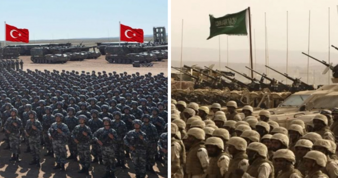 إذا اندلعت حرب جوية بين السعودية وتركيا؟.. من سينتصر بالأرقام