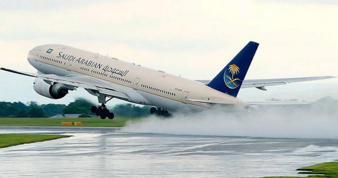 """أزمة في """"الخطوط السعودية"""".. تفتيش صارم على أبواب الطائرات وغضب بين الركاب"""