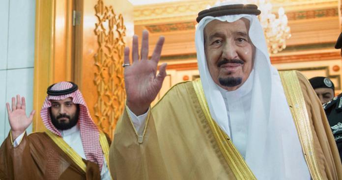 """بعد استلامه مقاليد الحكم.. رسالتان من الملك سلمان و محمد بن سلمان إلى """"حفيد العثمانيين"""" المعادي للسعودية"""
