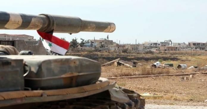 """قوات النظام تسيطر على نقاط بأطراف """"الرحيبة"""" وتعزلها (خريطة)"""