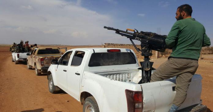 الفصائل الثورية تستعيد مناطق استراتيجية من تنظيم الدولة بالقلمون