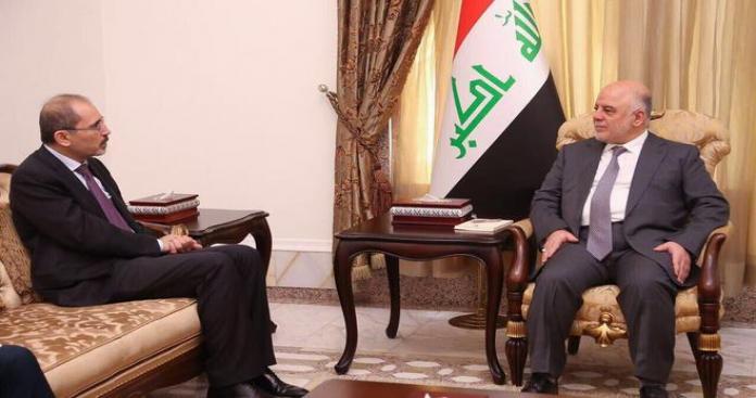 وزير خارجية الأردن يبحث في بغداد فتح منفذ طريبيل ومحاربة تنظيم الدولة
