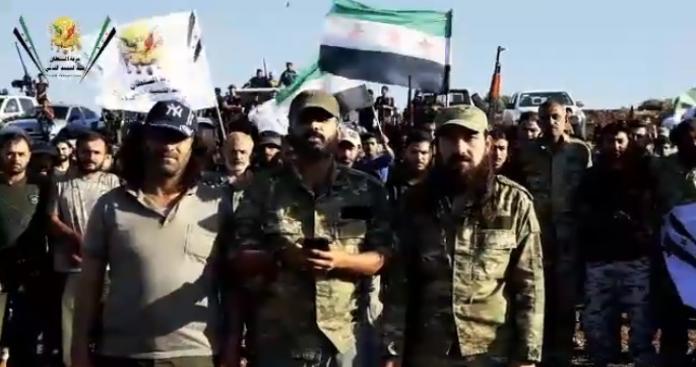 """ظهور تشكيل عسكري جديد شمال حلب غير تابع لـ""""الجيش الوطني"""" (فيديو)"""